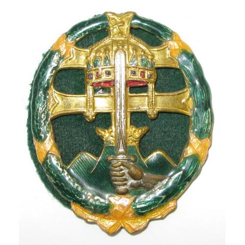 Ungarn, Truppenoffiziersabzeichen 1920-1945