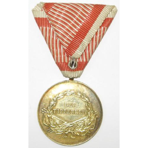 Goldene Tapferkeitsmedaille Kaiser Franz Joseph I.