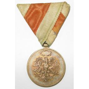 Erinnerungsmedaille für die Landesverteidigung von Tirol 1914-1918