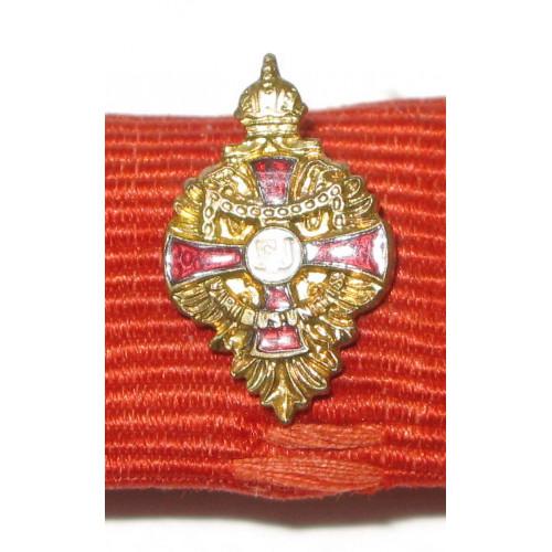K. u. K. Monarchie -  Kleindekoration - Auflage des Franz Joseph Orden