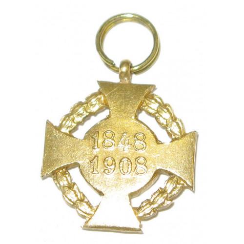 Österreich / K.u.K. Monarchie, Jubiläumskreuz 1908