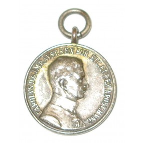Österreich / K.u.K. Monarchie, Silberne Tapferkeitsmedaille Kaiser Karl