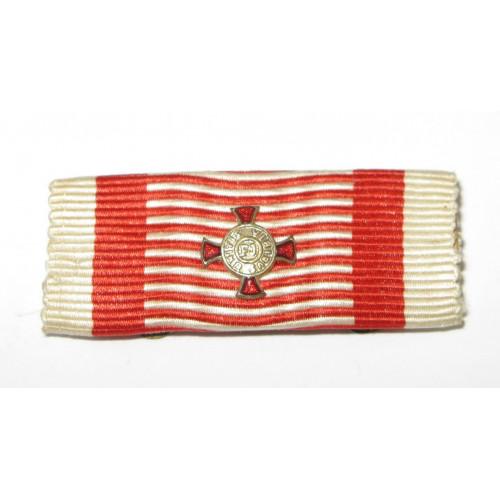 K. u. K. Monarchie -  Kleindekoration - Auflage Silbernes Verdienstkreuz
