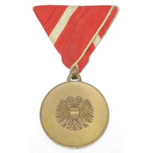 Medaille für Verdienste um den Bundesstaat Österreich (1934 - 1938 ) 2. Typ