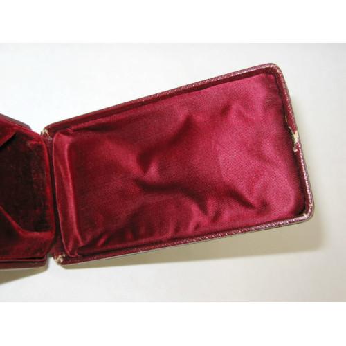 Spanien, Orden Isabella der Katholischen - Verleihungsetui A XII