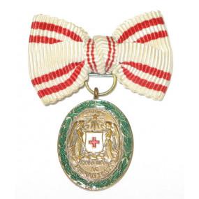 Österreich / K.u.K. Monarchie, Ehrenzeichen vom Roten Kreuz, Bronzene Ehrenmedaille mit KD