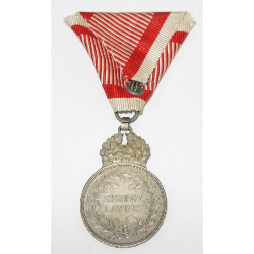 Silberne Militärverdienstmedaille Signum Laudis Kaiser Karl