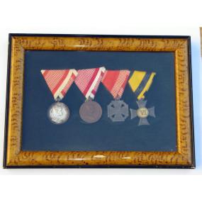 Auszeichnungen eines Tapferen Soldaten der k. u. k. Armee
