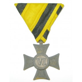 Österreich / K.u.K. Monarchie, Militärdienstzeichen für Unteroffiziere u. Mannschaften 3.Klasse für 6 Jahre