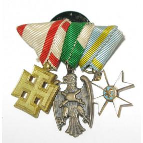 Österreich 1. Republik, 3 Miniaturen
