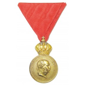 Bronzene Militärverdienstmedaille Signum Laudis FJI.