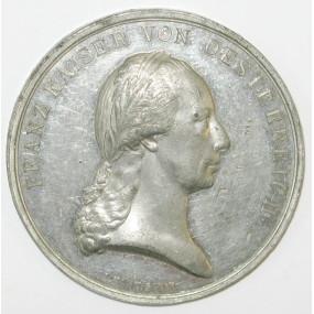 Franz I. 1804 - 1835 Zinnmedaille 1816 von I. Harnisch