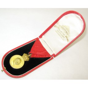 Österreich / K.u.K. Monarchie, Bronzene Militärverdienstmedaille Signum Laudis FJI. im Etui