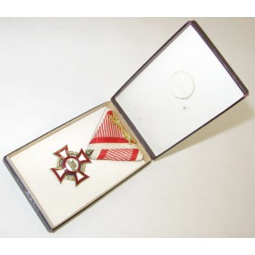 Österreich / K.u.K. Monarchie, Militärverdienstkreuz III. Klasse  mit KD