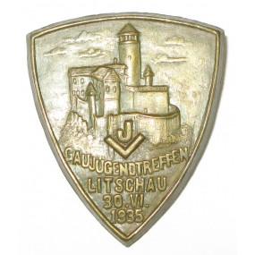 Blechabzeichen, JV - Gaujugendtreffen in Litschau am 30. VI.1935