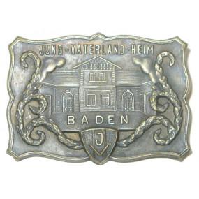 Blechabzeichen, JUNG- VATERLAND HEIM BADEN