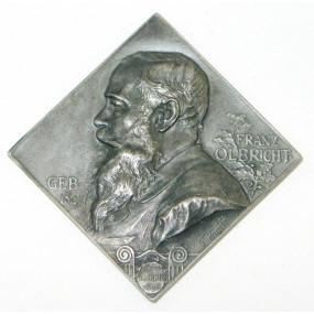 Scharff Plakette, Franz Olbricht und Ferdinand Dehm 1898