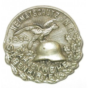 Heimatschutz Niederösterreich, FAHNENWEIHE SIEBENHIRTEN 1934