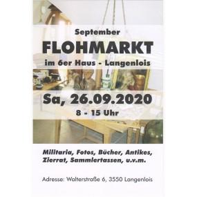 FLOHMARKT im 6er HAUS LANGENLOIS