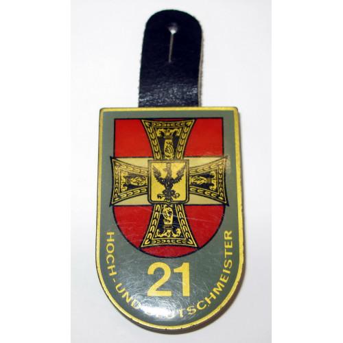 ÖBH - Truppenkörperabzeichen LWSR 21 Hoch- und Deutschmeister Wien