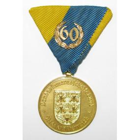 Landeskameradschaftsbund Niederösterreich Goldene Medaille für 60 Jährige Mitgliedschaft