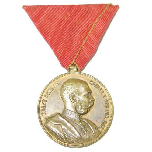 Erinnerungsmedaille an das 70. Geburtsfest Sr. Majestät des Kaisers Franz Joseph I.