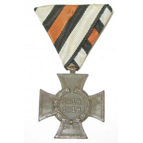 Ehrenkreuz des Weltkrieges 1914 - 1918 Kriegsteilnehmerkreuz