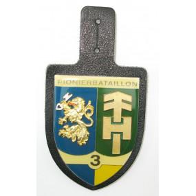 ÖBH - Truppenkörperabzeichen Pionierbataillon 3 Niederösterreich