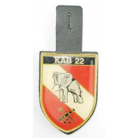 ÖBH - Truppenkörperabzeichen Koprsartillerie- Bataillon 22