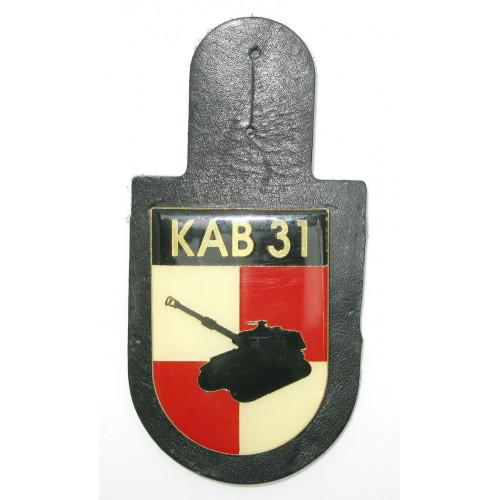 ÖBH - Truppenkörperabzeichen Korps-Artillerie-Bataillon 31 Niederösterreich