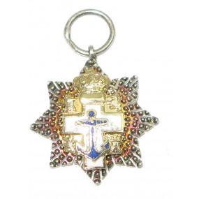 Spanien, Marine-Verdienstorden - Miniatur