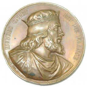 Medaille HUGUES CAPET ROI DE FRANCE