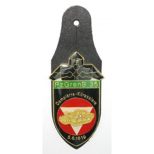 ÖBH - Truppenkörperabzeichen Panzergrenadierbataillon 35 Niederösterreich