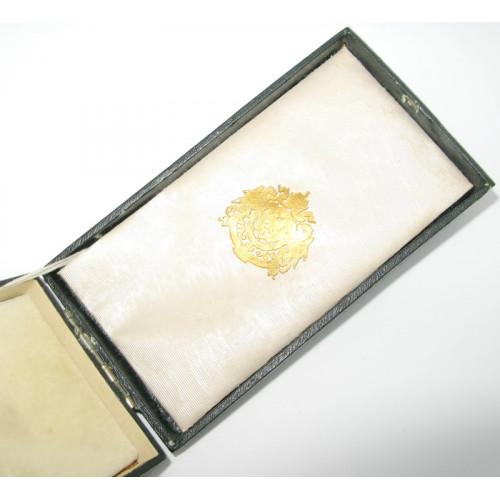 Silbernes Verdienstkreuz m. d. K. im originalen Etui