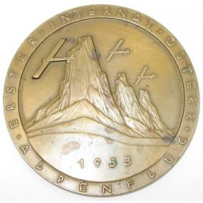 Erster internationaler österreichischer Alpenflug 1933