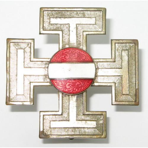Österreich 1. Republik/Bundesstaat Vaterländische Front- Funktionärsabzeichen für Ortsgruppenleiter