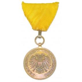 Österreich 1. Republik/Bundesstaat Ehrenmedaille für 25jährige verdienstvolle Tätigkeit im Feuerwehr- und Rettungswesens