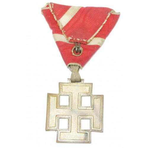 Österreich 1. Republik/Bundesstaat - Silbernes Verdienstzeichen