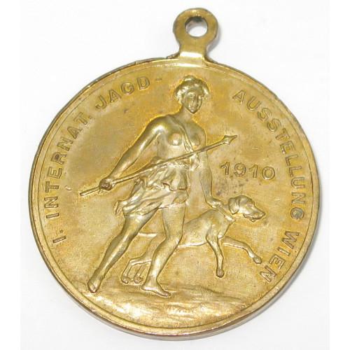 Kaiser Franz Josef I. Internationale Jagdausstellung Wien 1910