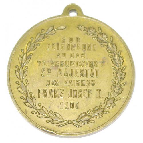 Kaiser Franz Josef I., 70 Geburtstagfest Seiner Majestät 1900
