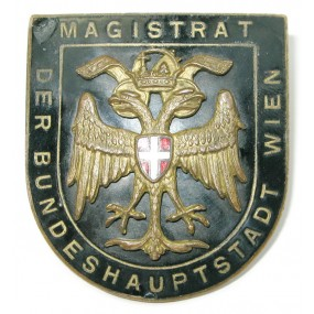 Abzeichen für Magistratsbeamte in Wien