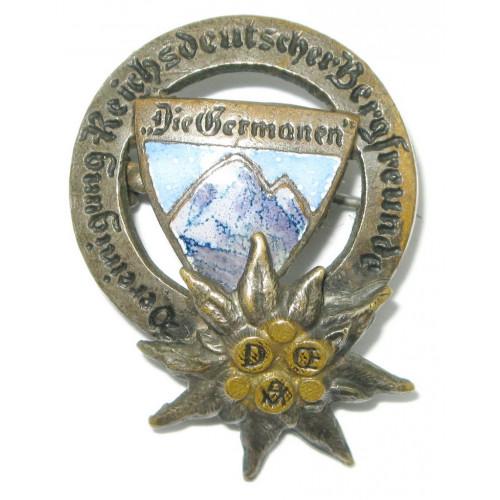Vereinigung Reichsdeutscher Bergfreunde DIE GERMANEN