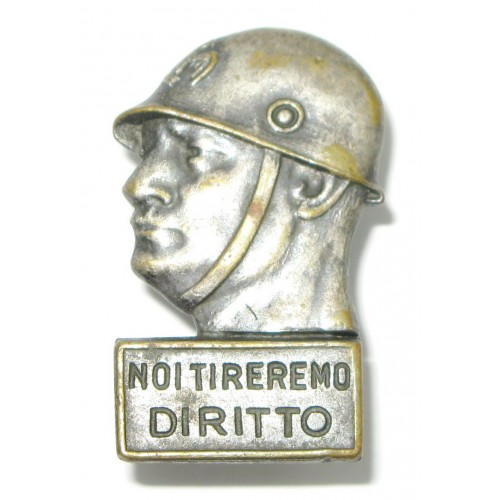 Mussolini, NOI TIREREMO DIRITTO