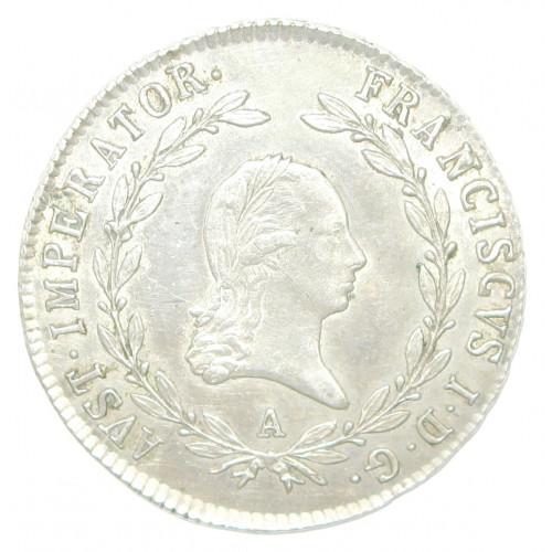 Kaiser Franz II./I. 20 Kreuzer 1823 A