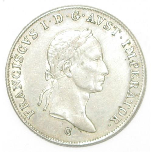Kaiser Ferdinand I. 20 Kreuzer 1832 C