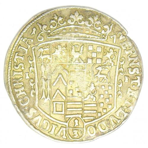 Stolberg Wernigerode 1/3 Taler 1672 Ernst und Ludwig Christian 1672-1710
