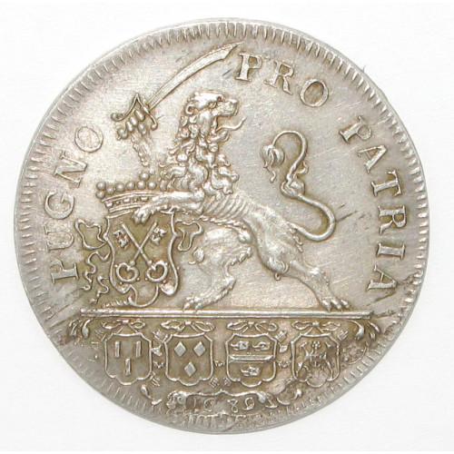 Niederlande, Schutterspenning 1689  PUGNO - PRO PATRIA