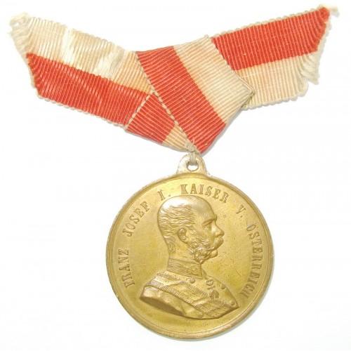 Kaiser Franz Josef I., FÜR FLEISS UND GUTE SITTEN URANIA