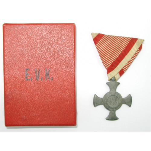 Eisernes Verdienstkreuz  1916 im Etui