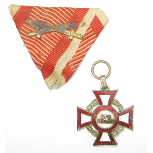 Militärverdienstkreuz III. Klasse mit KD